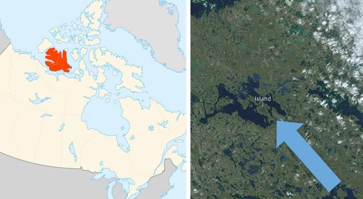 A première vue, cette île semble identique à beaucoup d'autres, mais elle détient en réalité un record