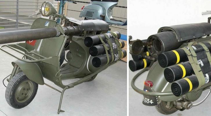 Vespa Bazooka: ecco il modello Piaggio che poteva vedersela con i carrarmati
