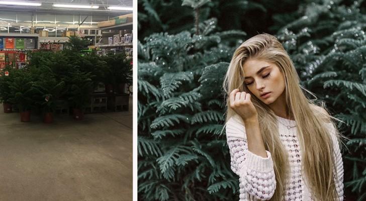 Deze fotografe kiest Lelijke locaties uit om foto's te maken en behaalt uitzonderlijke resultaten: wat een talent!