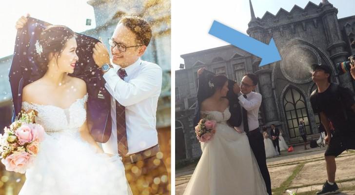 Deze foto's laten zien wat er achter de vlekkeloze foto's op sociale media schuilgaat