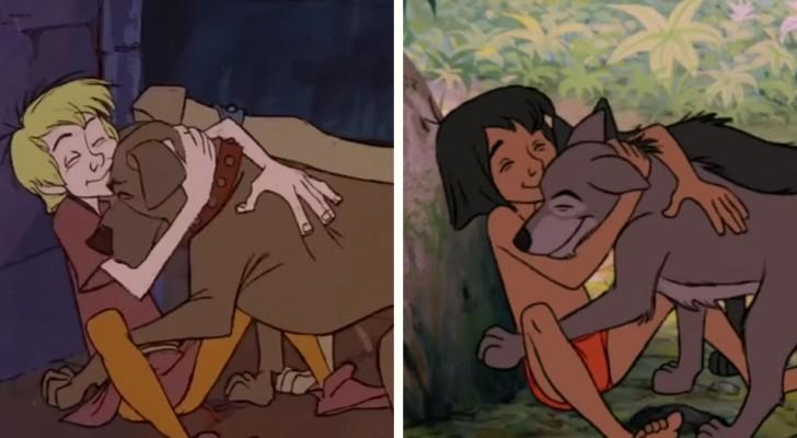Toen Disney zijn oude tekeningen hergebruikte: dit zijn alle replica's die je nog nooit opgemerkt hebt