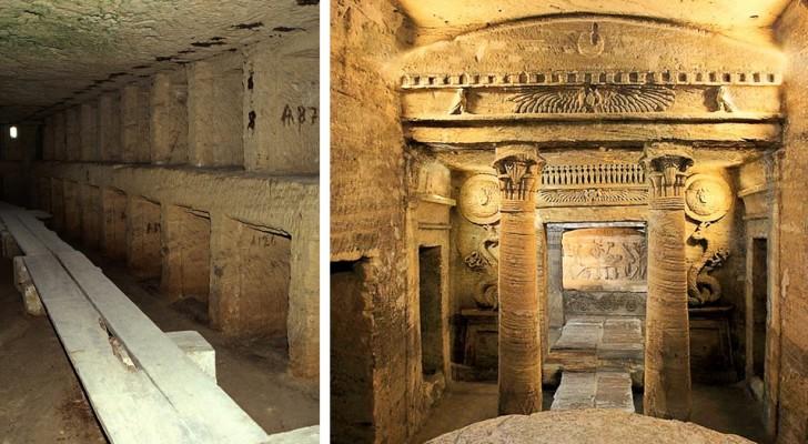 Scopriamo le Catacombe di Kom El Shoqafa, una delle 7 meraviglie del mondo medievale