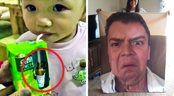24 parents who are real experts when it comes to playing jokes on their children!