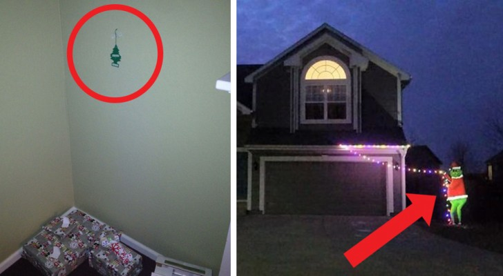 23 people who did not want to decorate their homes for Christmas and made it absolutely clear!