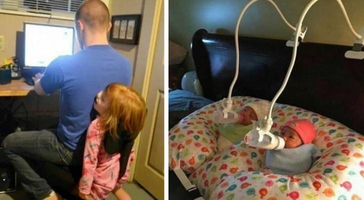 24 ouders die weten hoe ze met de juiste dosis luchtigheid het leven moeten benaderen