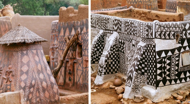 Dans ce village africain peu connu chaque maison est une œuvre d'art