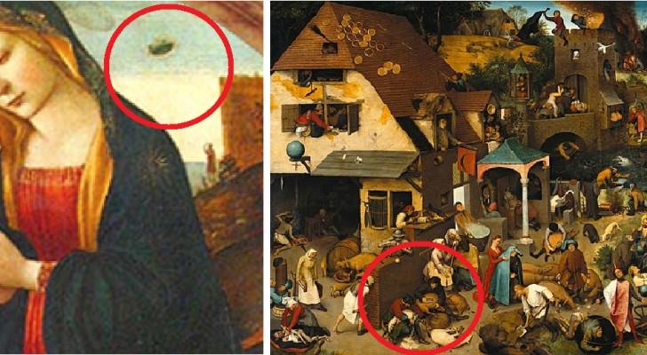 8 curieuze details van beroemde schilderijen die je ontgaan waren
