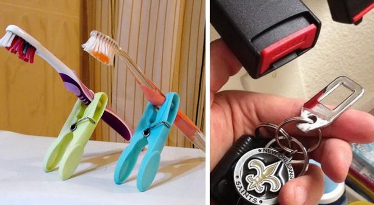 35 ejemplos de como objetos comunes pueden ser utiles tambien en algun otro modo