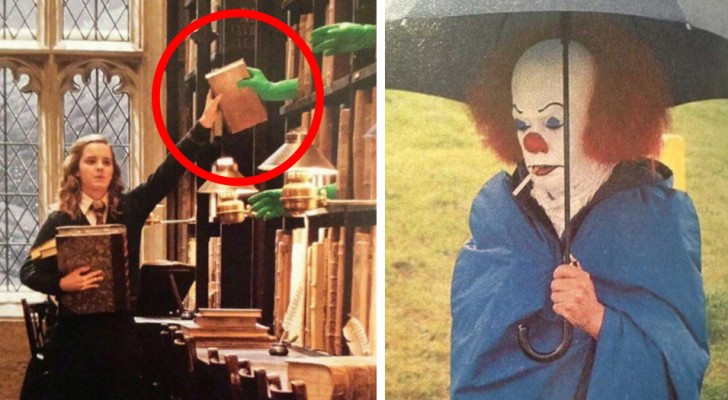18 images that reveal some behind-the-scenes curiosities regarding several famous films!