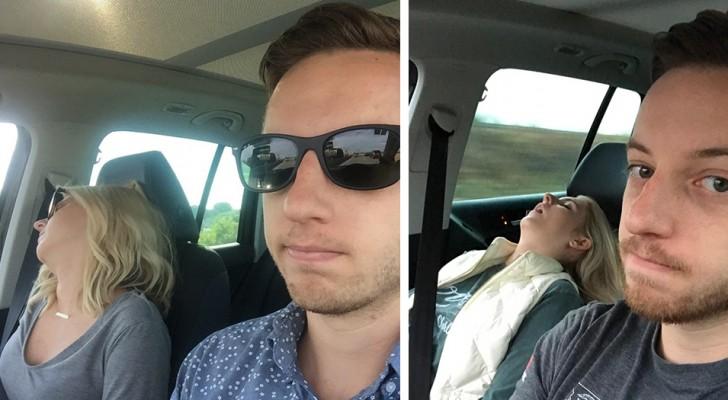 Cet homme a pris une photo pour chaque voyage en voiture
