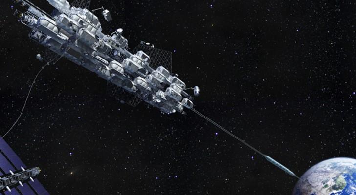 Una compagnia giapponese proclama la costruzione di un ascensore spaziale entro il 2050