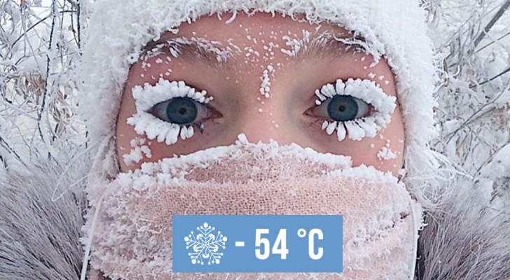 In questo villaggio siberiano nel 1933 è stata toccata la temperatura record di -67 °C