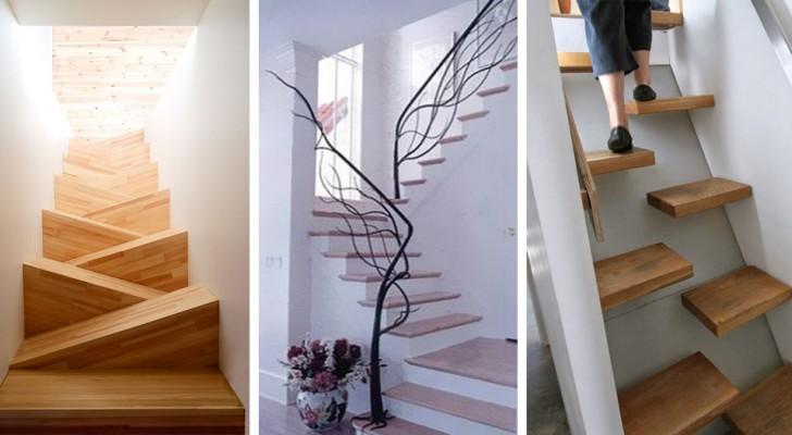 20 immagini di scale così belle e originali che vi faranno venire voglia di rifare le vostre