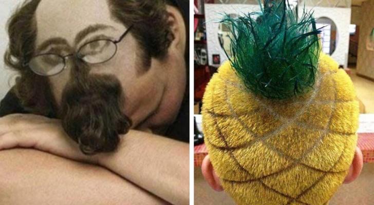 20 peinados tan absurdos que es casi imposible olvidarlos