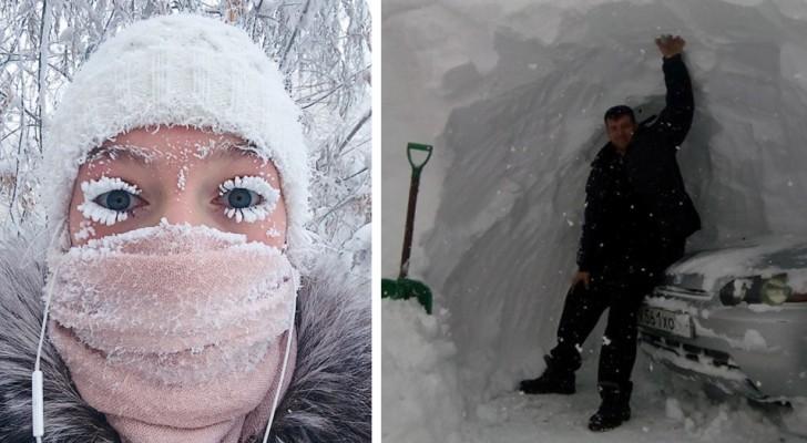 25 foto invernali che non vi lasceranno indifferenti
