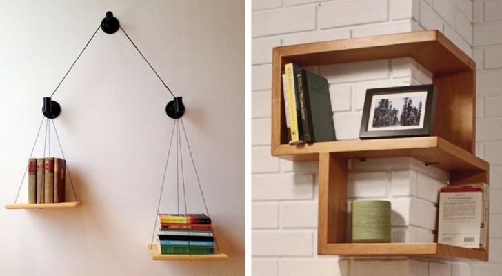 11 planken met een originele vorm die je zelf kunt maken