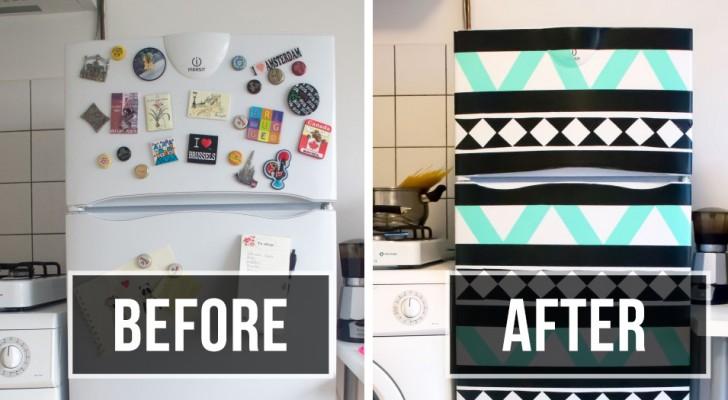 12 idee fai da te che faranno del tuo frigorifero il punto più interessante della cucina