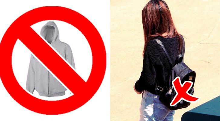 13 idiote verboden die gelden op enkele scholen in Engeland en Amerika