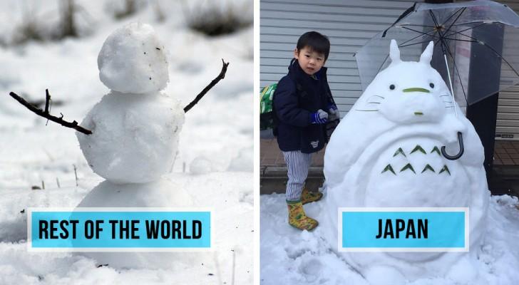 Una pesante nevicata si abbatte su Tokyo: ciò che fanno i cittadini ha dell'incredibile!