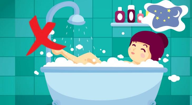 8 abitudini diffuse che danneggiano il riposo notturno