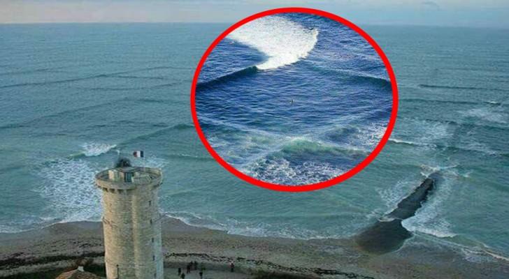 Deze vierkante golven trekken toeristen aan maar het is een gevaarlijk fenomeen dat iedereen moet weten
