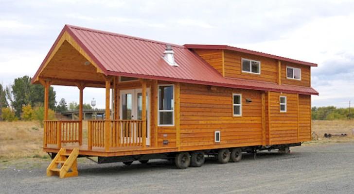 Une maison en bois de 60 mètres carrés: un regard à l'intérieur suffira pour que vous tombiez sous son charme