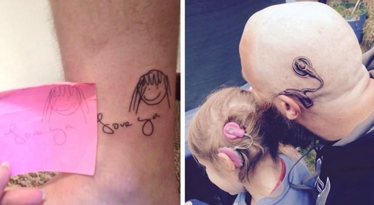 18 tolle Tattoos, die eine Geschichte erzählen