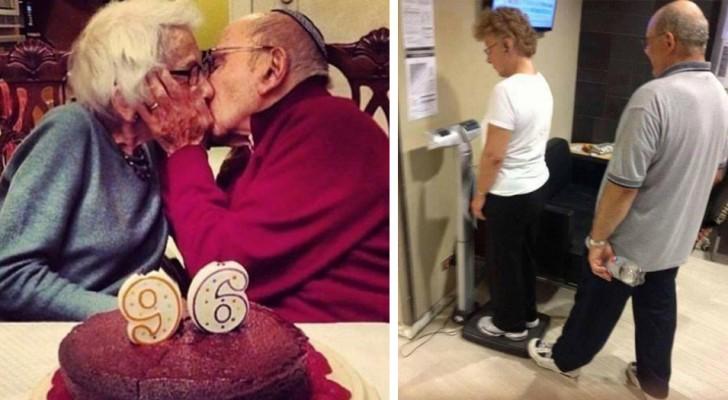 Deze foto's van oude mensen laten maar weer eens zien wat het betekent om van iemand te houden