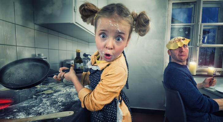 Un papà fotografo stravolge gli scatti dei suoi 4 figli e ottiene risultati favolosi
