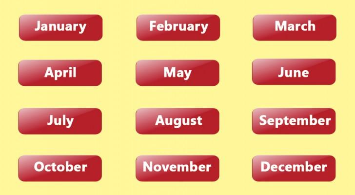 O mês do ano no qual você nasceu pode mostrar alguns aspectos da sua personalidade