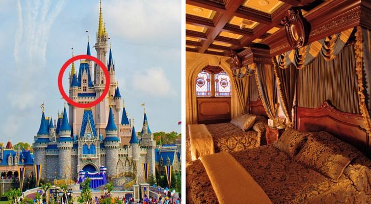 Il magico castello di Cenerentola a Disney World nasconde una suite a tema da sogno