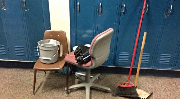 Fini les mots et les punitions: cette école fait faire le ménage aux élèves qui se comportent mal