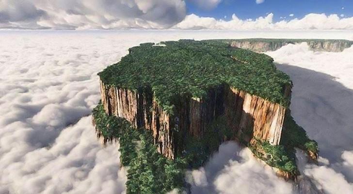 Les îles entre les nuages du Venezuela: des mondes perdus sur lesquels l'évolution a suivi un parcours différent