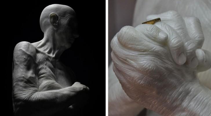 Deze autodidact beeldhouwer maakt beelden zo gedetailleerd dat ze wel lijken te leven