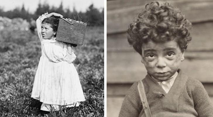 12 foto's van grote betekenis door een fotograaf die kinderarbeid bestreed begin de 20ste eeuw