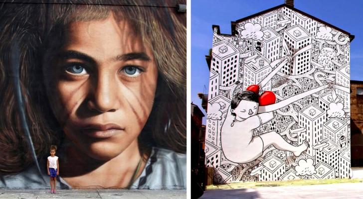 21 incredibili lavori di street art che possiamo trovare in giro per il mondo