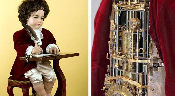 Il bambino 'Scrittore' è il primo esempio di robot programmabile: vederlo in azione è una meraviglia