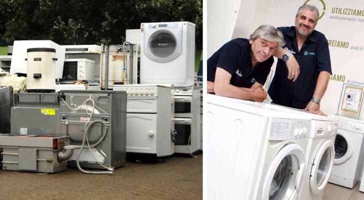 La prima azienda italiana che rigenera elettrodomestici destinati alla discarica e li vende a prezzi low cost