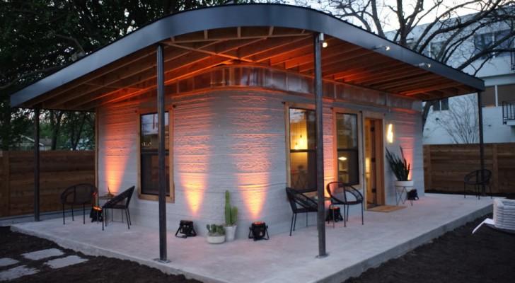 Dieses Zementhaus wurde in nur 24 Stunden erbaut zum halben Preis eines normalen Hauses