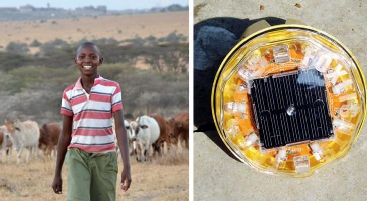 Mit einer einfachen Erfindung hat dieser Junge die Löwen gerettet, das Unheil, das die Wirtschaft seines Dorfes bedrohte