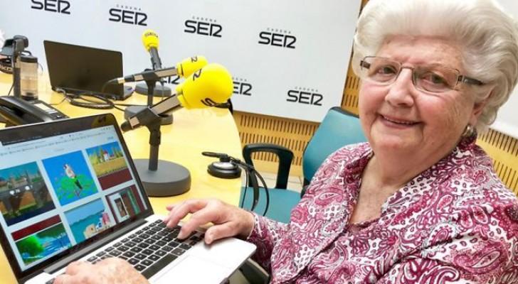 Cette mamie de 87 ans crée avec Microsoft Paint des dessins qui semblent de véritables tableaux