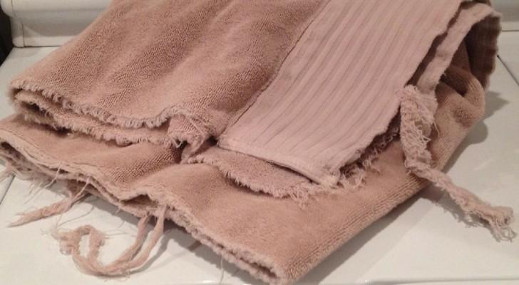 Ne jetez pas vos vieilles serviettes de bain: voici 15 façons utiles de les réutiliser.