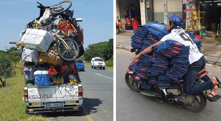 18 images of transportation that you did not believe were even possible!