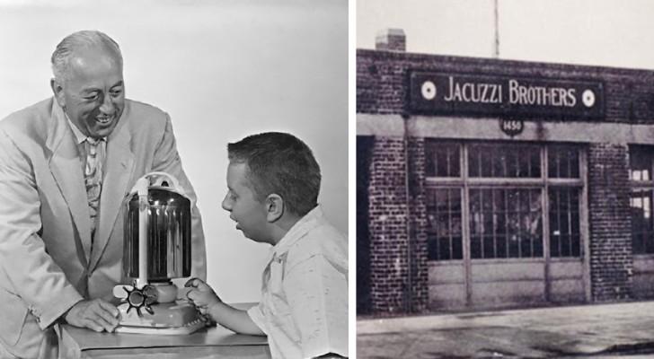 De jacuzzi hydromassage is ontstaan uit het wanhopige gebaar van een vader die zijn zoon wilde redden van reumatoïde artritis