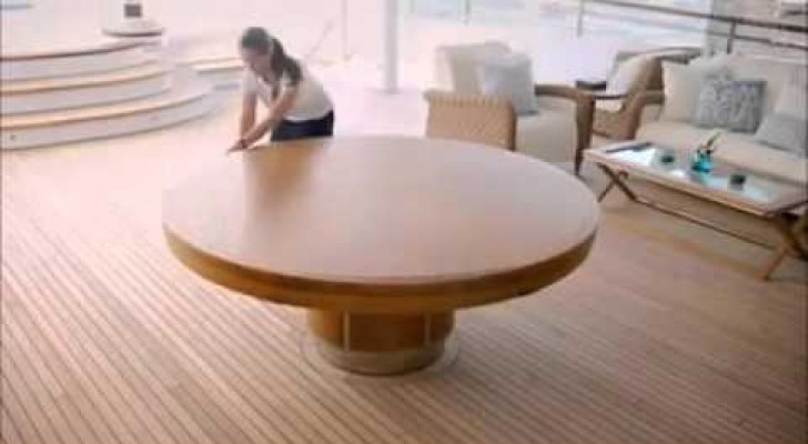 Un tavolo davvero formidabile