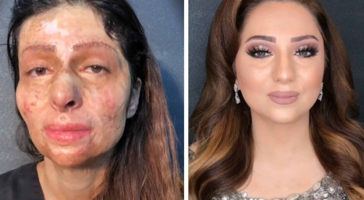 The transformation of these women thanks to makeup is wonderful and excruciating at the same time ...