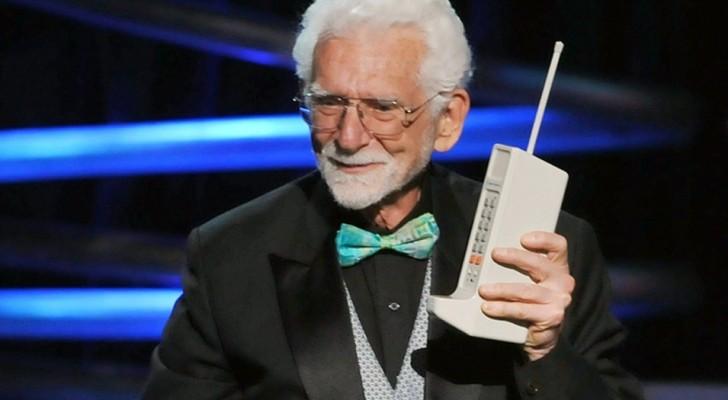 Il y a 45 ans, cet homme a passé le premier appel de l'histoire depuis un téléphone portable, et le destinataire n'était pas dû au hasard