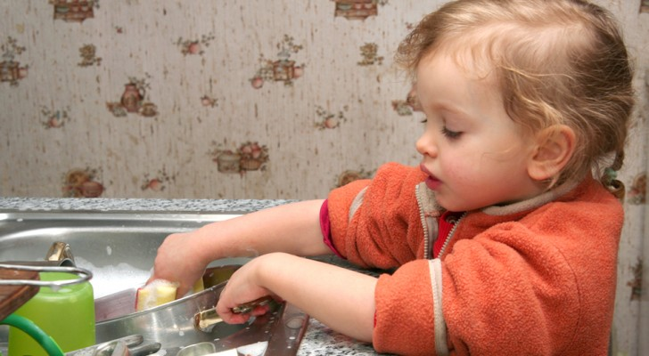 Den Kindern einige Aufgaben im Haushalt zu überlassen macht sie zu erfolgreichen Erwachsenen