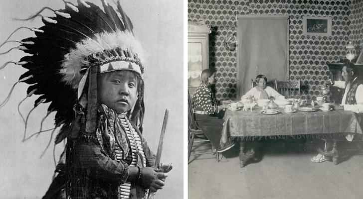 Das sind die letzten Bilder des Stammes der Crow, kurz bevor sie durch die weißen Kolonialmächte ausgerottet wurden