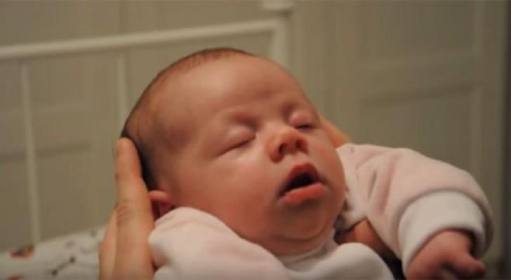 Ecco il curioso metodo Oomba Loomba per far addormentare i neonati in un istante